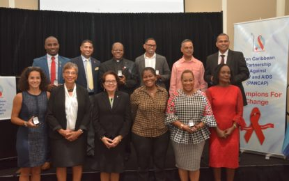 First Lady among 16 Caribbean Nationals honoured by PANCAP