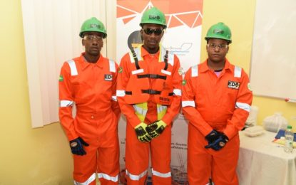 EDO pooling skills for oil industry -16 deck hands trained