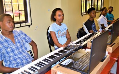 30 youths, teachers commence Electronic Music Production course  at the Music School