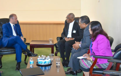 Guyana delegation engages in 'fruitful discussions' at UNGA 2017