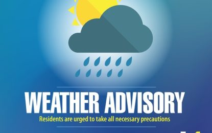 WEATHER ADVISORY!