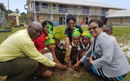 Tree planting exercises observed for Education Month