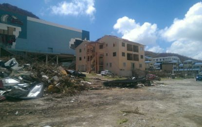 Guyana Needs Assessment team meets with Hurricane Irma victims in St Maarten