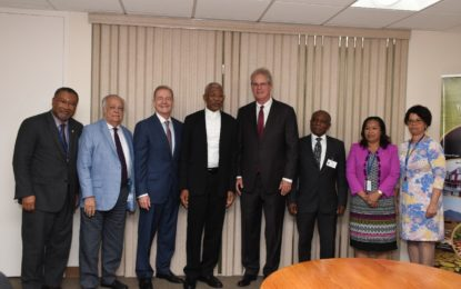 President Granger briefed by Exxon on exploration progress
