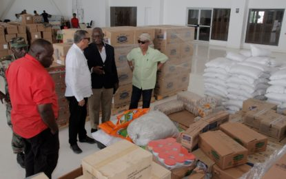 Govt sends first set of relief to Hurricane affected islands