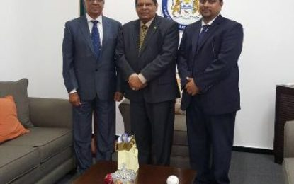 Commonwealth Lawyers Association Head Visits Guyana