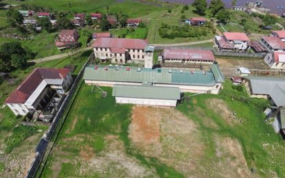 Bids out for expansion of Mazaruni Prison