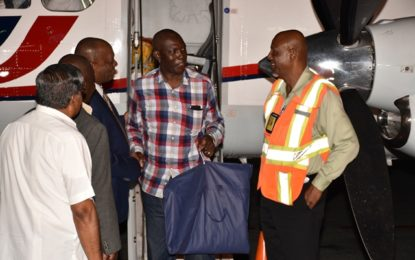 First batch of evacuees return home from  St Maarten