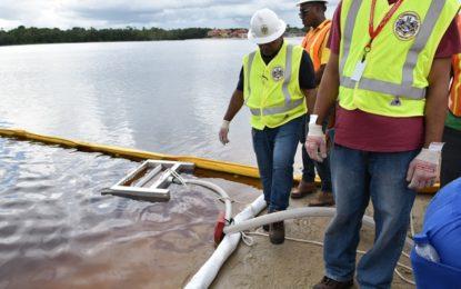 Exxon facilitates oil spill management training