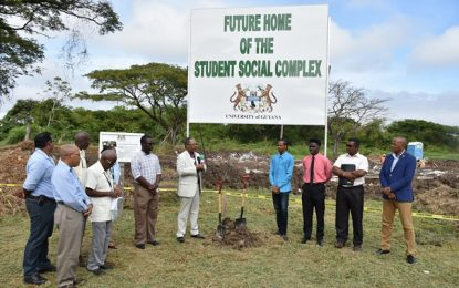 UG constructs Student Society Complex Building.