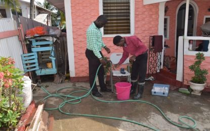 GWI ensuring quality water supply to residents affected by flash flooding