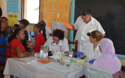 Medical outreach taken to Wales, WBD