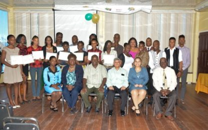 24 young people complete Financial Literacy, Small Business course