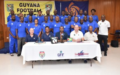 Coaches to capitalise on training at second D-License programme