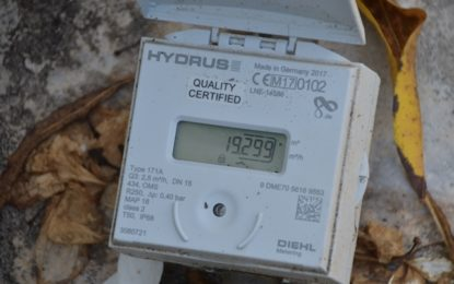 GWI currently testing Ultrasonic water meters