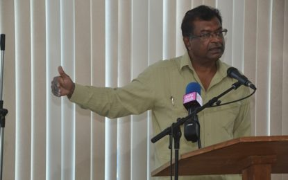 Minister Ramjattan wants more convictions from CANU