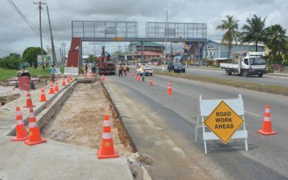 EBD Pedestrian overpasses set for November deadline