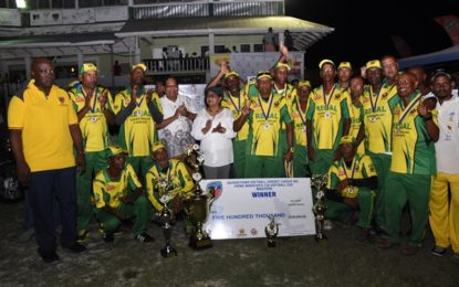 Speed Boat, Regal copped Prime Minister's T20 Cup