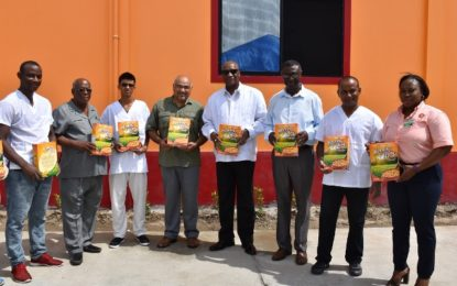 Business sector can learn from Rice Cereal Plant  -says Minister Harmon as company donates G$8M in cereal to hurricane relief efforts