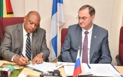 Guyana, Russia wrap up second working group meeting