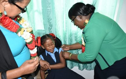 HPV Vaccine officially launched in Bartica
