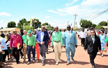 Township status marks transformative moment in economic development of Lethem  -President calls for cooperation, not confrontation