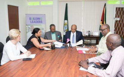 GOVT/UG sign MOU to improve programmes allied to oil and gas sector