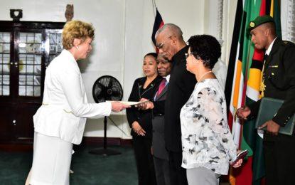 President accredits new Ambassadors of Austria, Azerbaijan