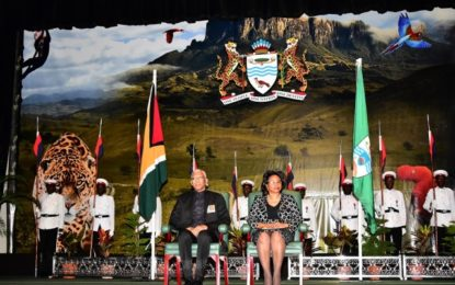 President says National Awards are about service to country  -69 outstanding Guyanese honoured today