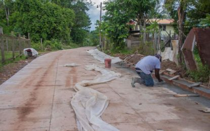 Mahdia Road to be completed in December.