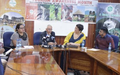 Tourism Awareness Month launched  – to focus on importance, benefits of the sector