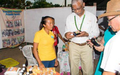Eco-friendly platform promoted at Lethem's Regional Agri Exhibition