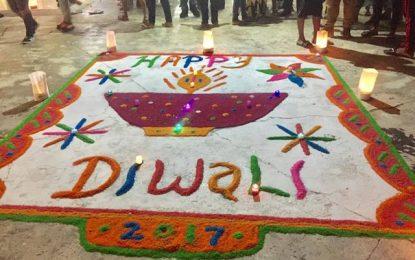 Berbicians unite to celebrate Festival of Lights