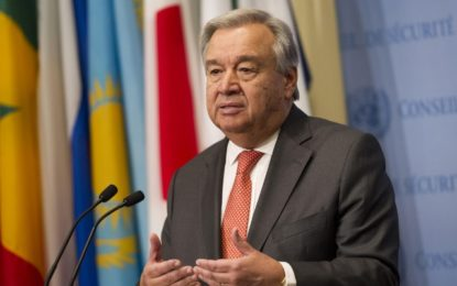 UN Secretary-General Antonio Guterres to visit Caribbean islands devastated by recent hurricanes.