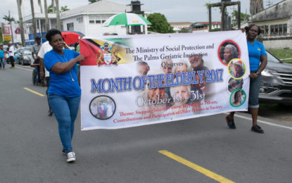 'Always respect and honour the senior citizens of Guyana' -Min. Keith Scott
