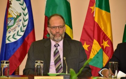"""Rebuild to more resilient standards""  CARICOM SG urges UN pledging conference for hurricane hit countries"