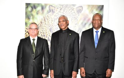 Outgoing Cuba Ambassador lauds open-door policy  -during farewell courtesy call on President, State Minister