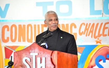 Government will invest in nation's STEM talents  -President David Granger at St. Joseph's graduation