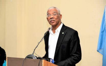 Multi-stakeholder Expert Group will move 'green' agenda from imagination to reality  -President Granger