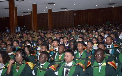 """First batch of graduates urged to """"Keep UG close to your heart""""- Dr. Dhanpaul Narine"""