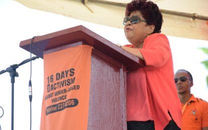 16 Days of Activism to eradicate gender-based violence launched