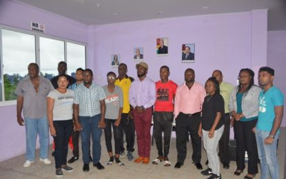 NSC introduces boxing to Region Three schools