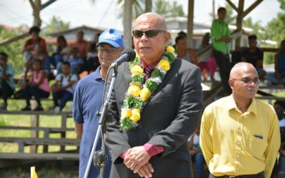 Extra-curricular activities important at tertiary institutions  -says Minister Norton at Guyana School of Agriculture's annual inter-house sports