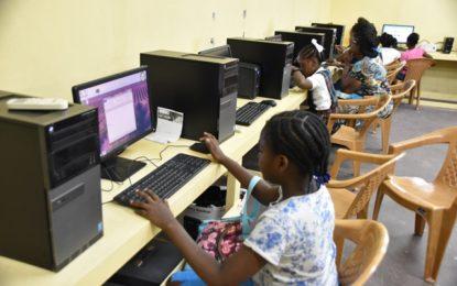 Residents of Melanie Damishana benefit from ICT Hub