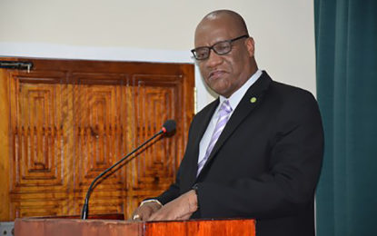 Criticisms of GECOM Chair will not derail credibility of elections processes – Minister Harmon