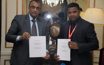 GCCI and FIEO sign MOU to strengthen Trade relations
