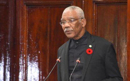 Prudent management led to economic growth –President David Granger