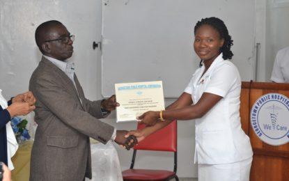 First batch of Post Anesthetic Care Nurses graduate