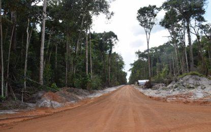 Issano, Karrau to Buckhall road works progressing