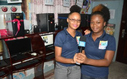 Linden youths commended for involvement in community development